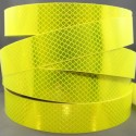 HIGH INTENSITY FLUORESCENT YELLOW AND ORANGE REFLECTIVE ADHESIVE TAPE